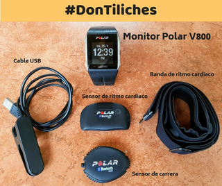 Polar V800 - Banda Frecuencia Cardiaca Y Sensor De Carrera