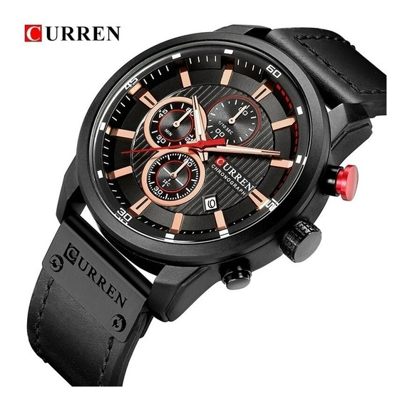 Relógio Curren 8291 Original Analógico Funcional Promoção