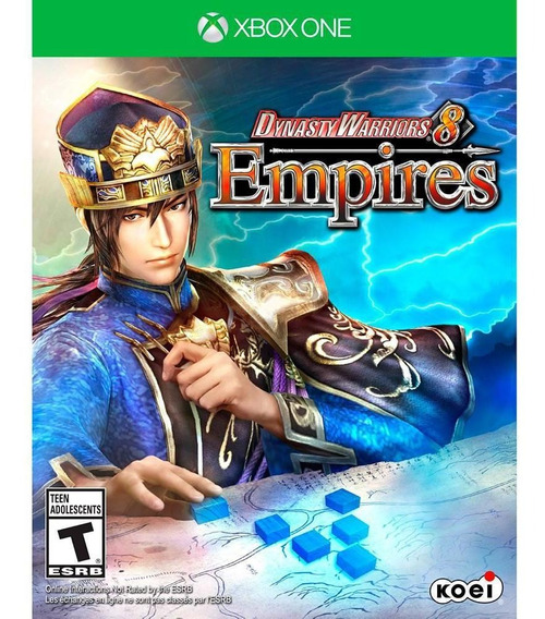 Dynasty Warriors 8 Empires Xbox One Mídia Física Novo