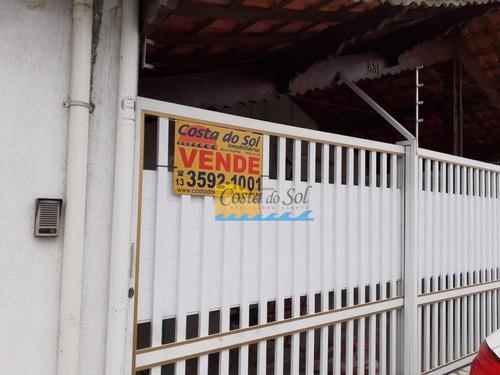 Casa Com 2 Dormitórios À Venda, 97 M² Por R$ 270.000,00 - Jardim Quietude - Praia Grande/sp - Ca1235