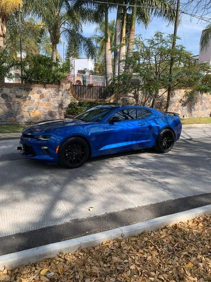 Camaro 2017 Ss Azul Metalico