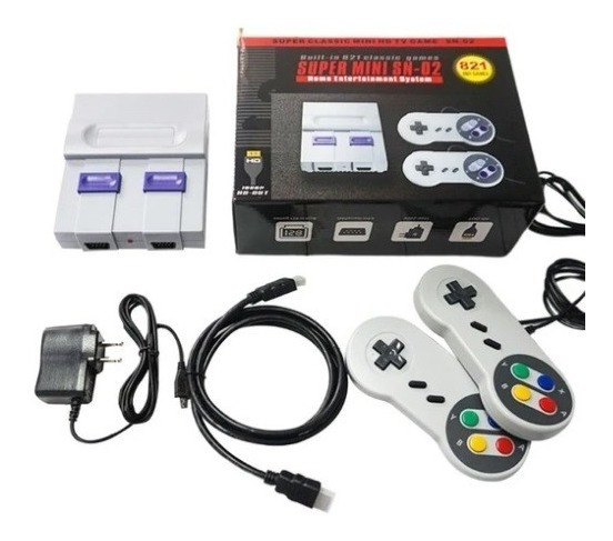 Video Game Retrô (mini Snes)