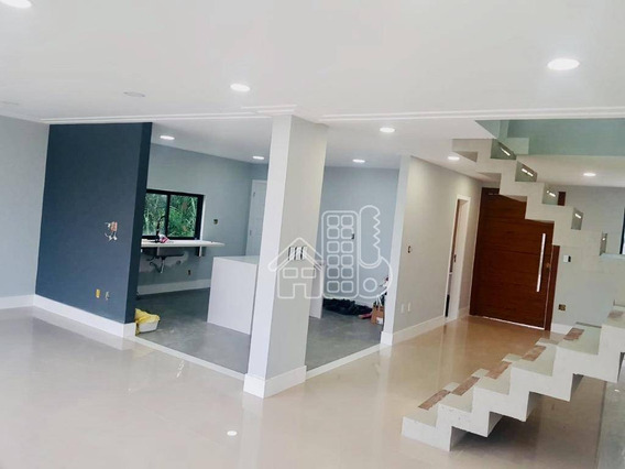Casa Com 3 Dormitórios À Venda, 200 M² Por R$ 1.250.000 - Piratininga - Niterói/rj - Ca0989