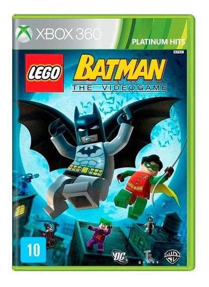 Lego Batman The Videogame Xbox 360 Mídia Física Novo Lacrado