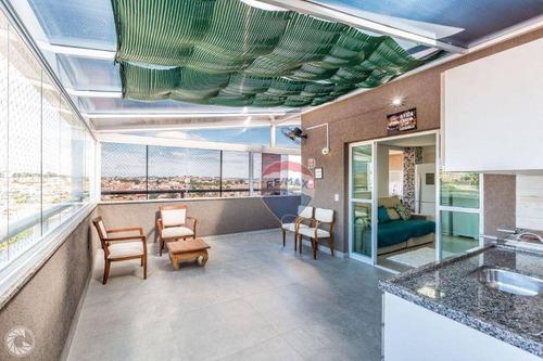 Imagem 1 de 30 de Apartamento À Venda, 127 M² Por R$ 695.000,00 - Alvinópolis - Atibaia/sp - Ap0902