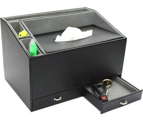 Ikee Design Home And Office Desk Faux Leather Multifunctiona
