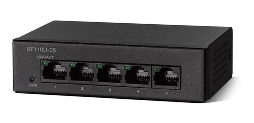 Switch Cisco Sf110d-05 5 Puertos Lan Oferta