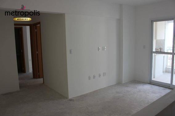Apartamento À Venda, 66 M² Por R$ 385.000,00 - Fundação - São Caetano Do Sul/sp - Ap1951
