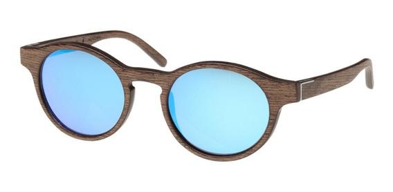 Wood Fellas Gafas Lentes De Sol Madera Flaucher