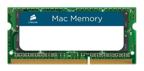 Memória RAM Mac Memory color Verde  16GB 2x8GB Corsair CMSA16GX3M2A1333C9