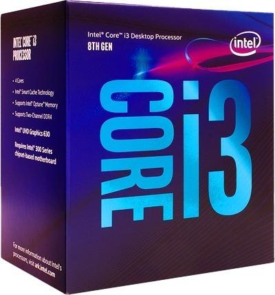 Processador Intel Core I3 8100 Coffee Lake Cache 6mb 3.6ghz