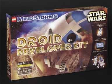 Lego Antiguo 9748 Mindstorms Star Wars Droid Developer R2d2