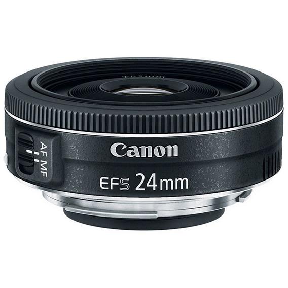Lente Canon Ef-s 24mm F/2.8 Stm Garantia Canon