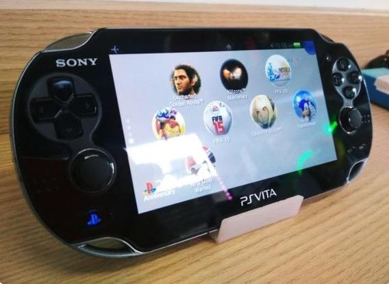 Ps Vita 32gb Sony Desbl. Com Jogos **frete Gratis**
