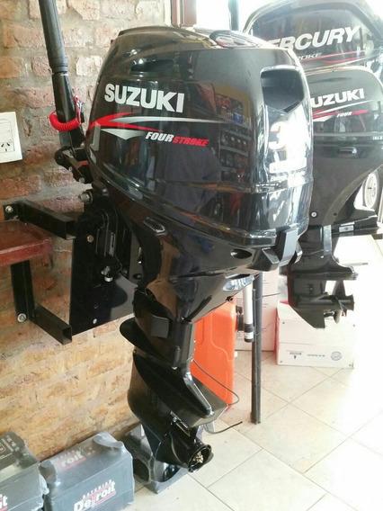Suzuki Df 30 Hp 4t Pata Larga Caña