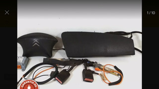 Kit Airbag Xsara Perua 99 00 2000 2001 2002 Original
