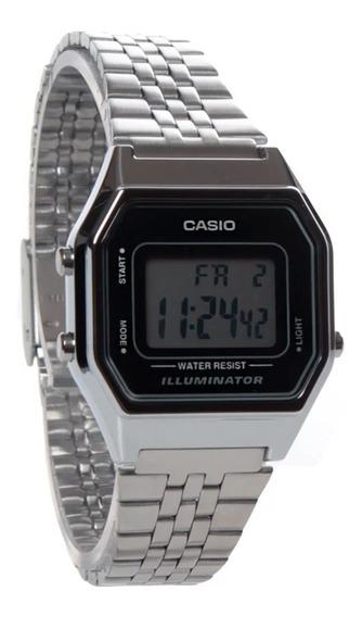 Relógio Feminino Pequeno Casio Vintage Digital La680wa-1df