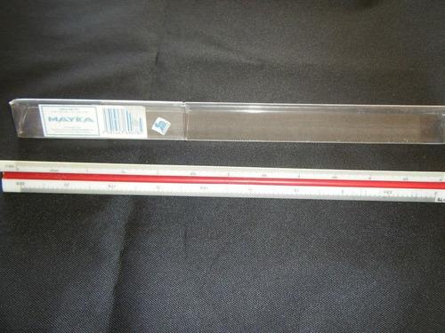 Imagen 1 de 2 de Util Y Practico Escalimetro Plastico, Marca Mayka