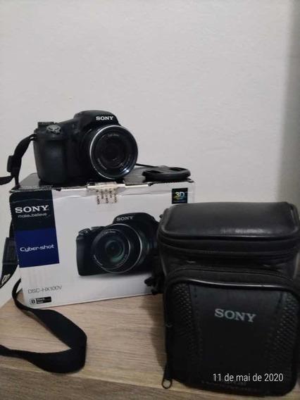 Câmera Semi Profissional Sony Dsc-hx100v Foto 3d
