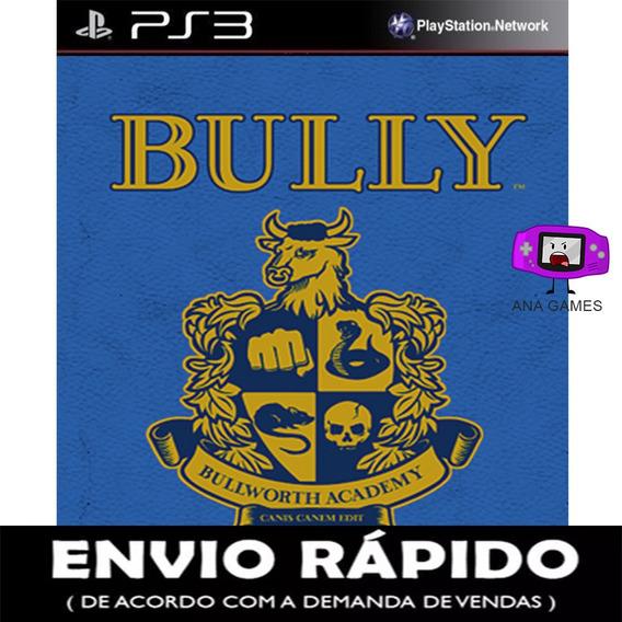Bully Ps3 - Jogo Digital