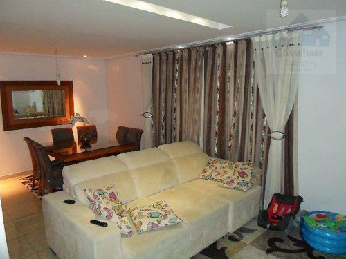 Casa Com 3 Dormitórios À Venda, 128 M² Por R$ 582.000,00 - Vila Valença - São Vicente/sp - Ca0154