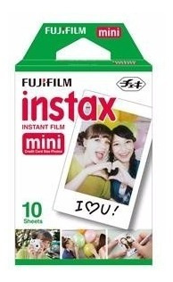 Fujifilm Instant Color Film Instax Mini - Pack 10 Poses
