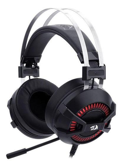 Headset Gamer Bio H801 Com Fio Redragon Pronta Entrega