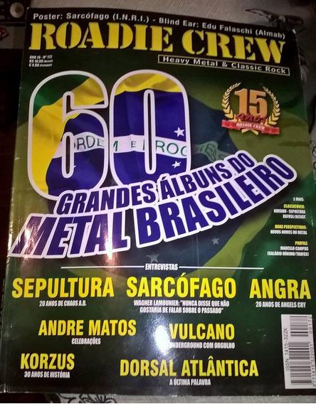 Coleção Revistas Roadie Crew