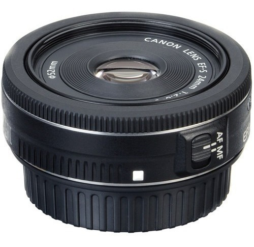 Lente Canon Ef-s 24mm F/2.8 Stm+ Garantia Canon 1 Ano