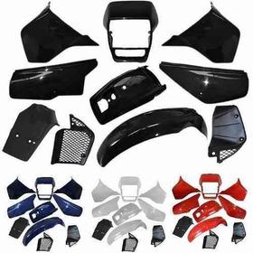Kit De Carenagem - Honda Xlx 350 - Sem Adesivo - 10 Peças