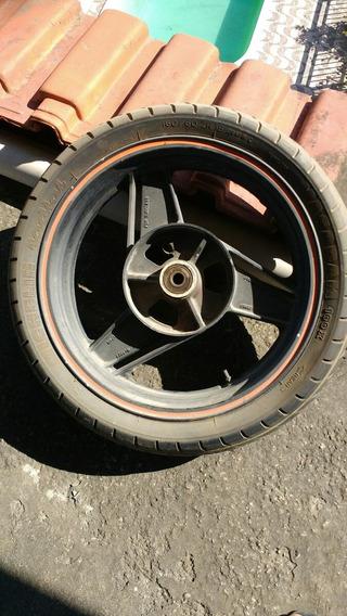 Roda Traseira Da Kawasaki Zx10 - Ano 1988 - Aro 18