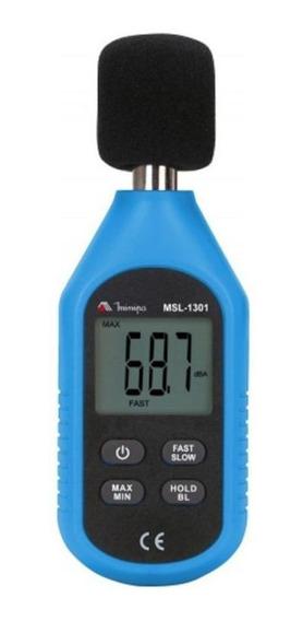 Mini Decibelímetro Medição De Ruídos Sonoros Msl-1301 Minipa