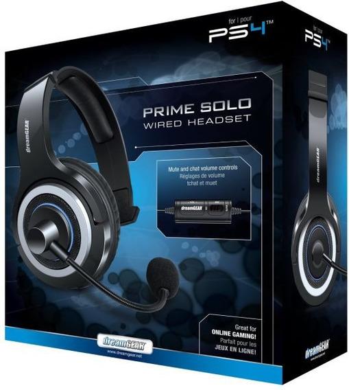 Fone De Ouvido Headset Dreamgear Prime Solo Ps4 Para Chat