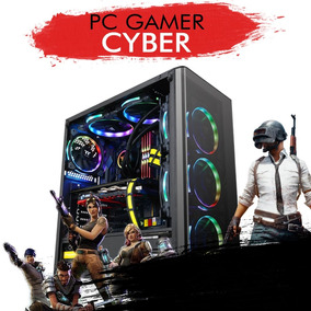 Pc Gamer Cyber - Intel I7 7700k, Gtx 1050ti 4gb, 1tb 8gb Ram