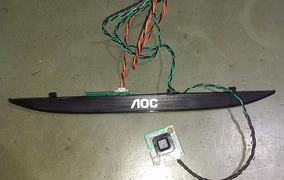 Teclado + Sensor Tv Aoc Le32d1452/20