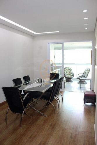 Apartamento  Com 3 Dormitório(s) Localizado(a) No Bairro Centro Em São Vicente / São Vicente  - 6191