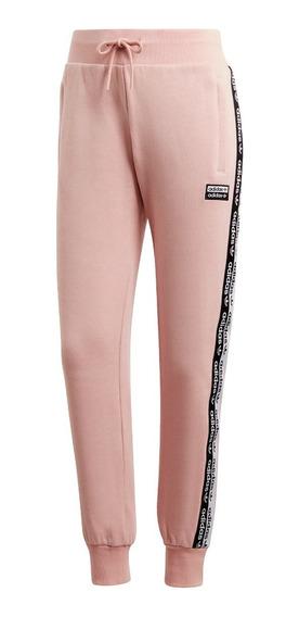 Pantalon adidas Cuffed De Mujer Rosa