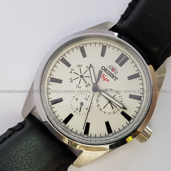 Relógio Orient Quartz Classic Fux00007w0 Multi Função