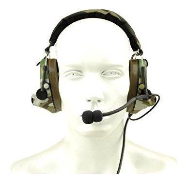 Lo Nuevo De Camuflaje Headp Comtac Ii Tactical Headset