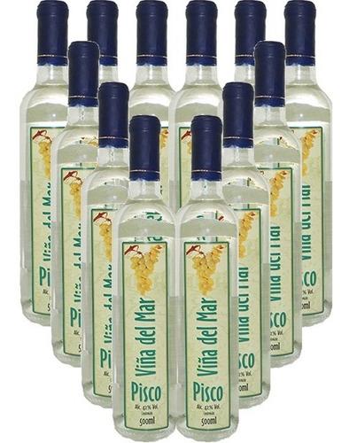 Imagem 1 de 1 de Destilado Viña Del Mar Pisco 750ml 12 Garrafas - Sta Cecilia