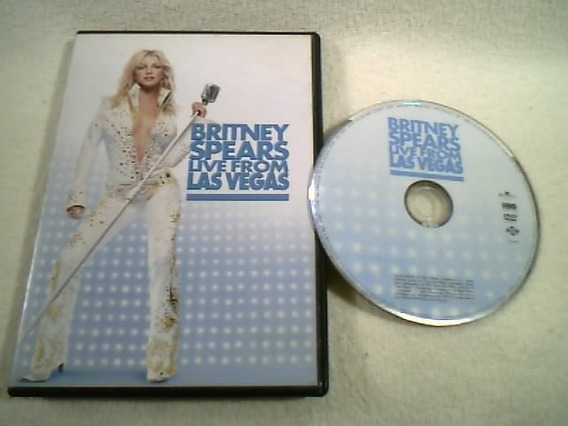 Dvd Original / Britney Spears - Live From Las Vegas - 2002