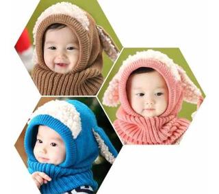 Gorro de punto para beb/é con forro polar para invierno gorro t/érmico RUXIYI 3-4 a/ños para ni/ños de 6 meses a 6 a/ños