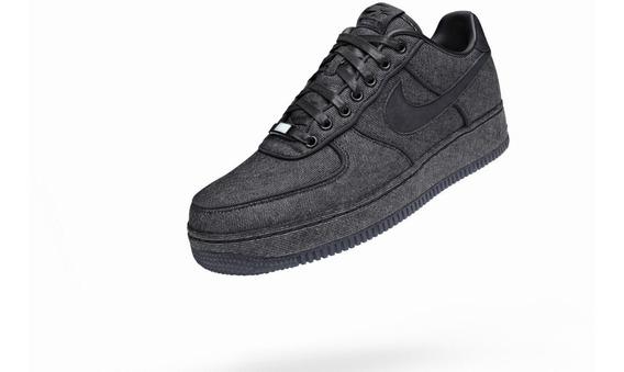 Tênis Masculino Nike Air Force 1 Xxx Black Denim Tam 11 (us)