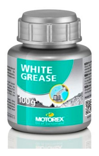 Grasa De Litio - Motorex White Grease - 100 Gramos