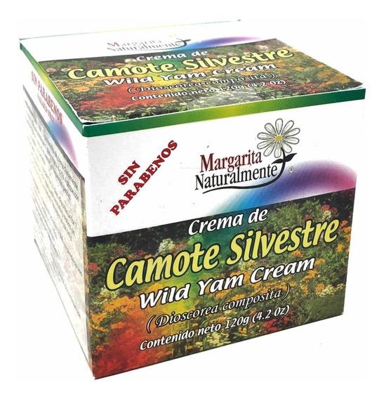 Crema De Camote Silvestre 120gr Margarita Naturalmente