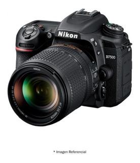 Nikon D7500 Cámara 4k Ultra Hd 20.9mp +lente 18-140mm