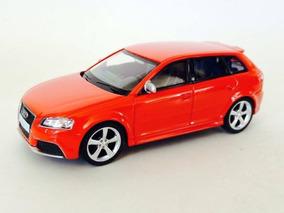 Miniatura Audi Rs3 Sportback Vermelho 1:43 California Junior