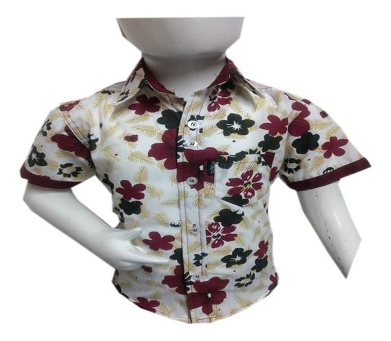 Camisa Niño Fresca Vestir Poliéster Moda Manga Corta