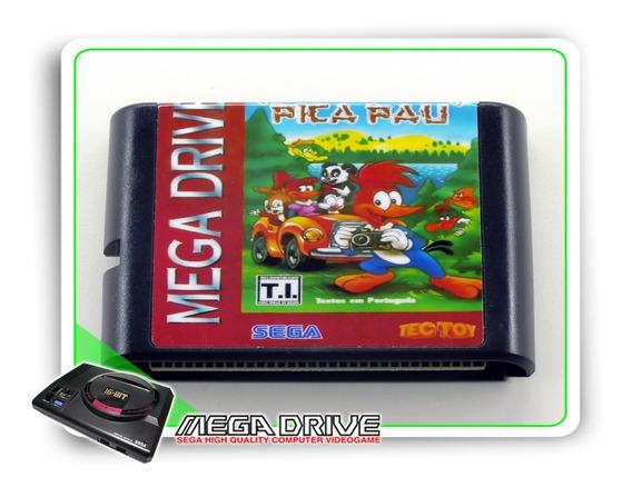 Ferias Frustradas Do Pica Pau Sega Mega Drive - Novo