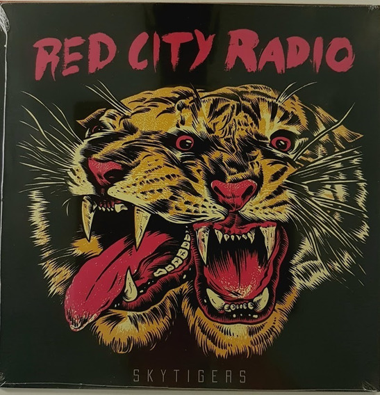 Lp Red City Radio - Skytigers - Ep Vinil 12 Novo Lacrado